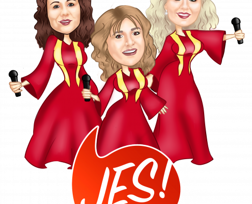 Damen-Trio